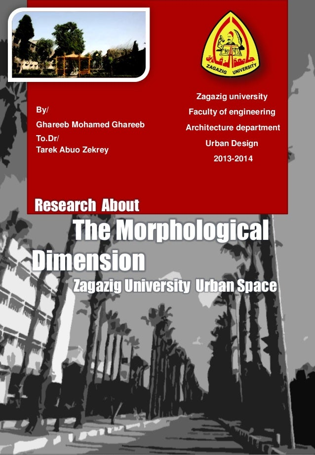 Zagazig university By/  Faculty of engineering  Ghareeb Mohamed Ghareeb To.Dr/ Tarek Abuo Zekrey  Architecture department ...