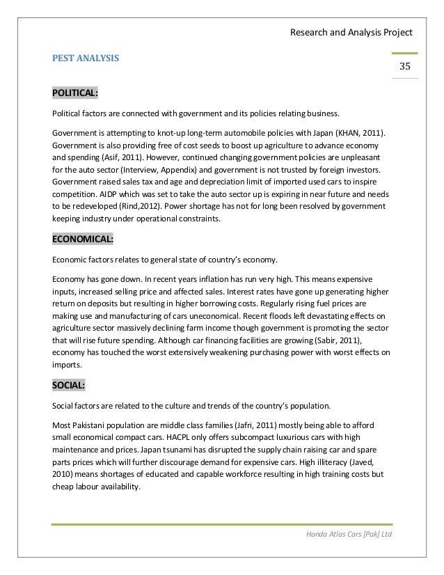 thesis over pesten