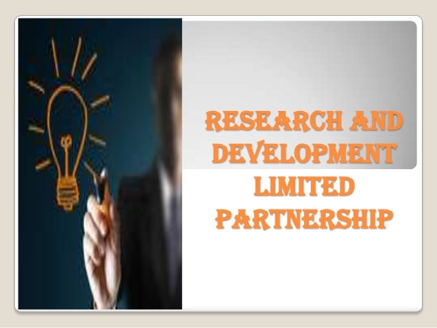 Research and Development Limited Partnership