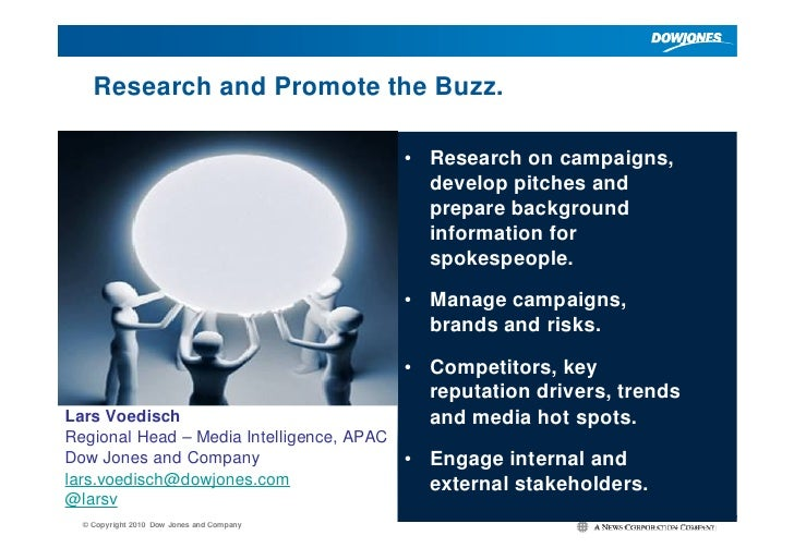 Research and Promote the Buzz.                                             • Research on campaigns,                       ...