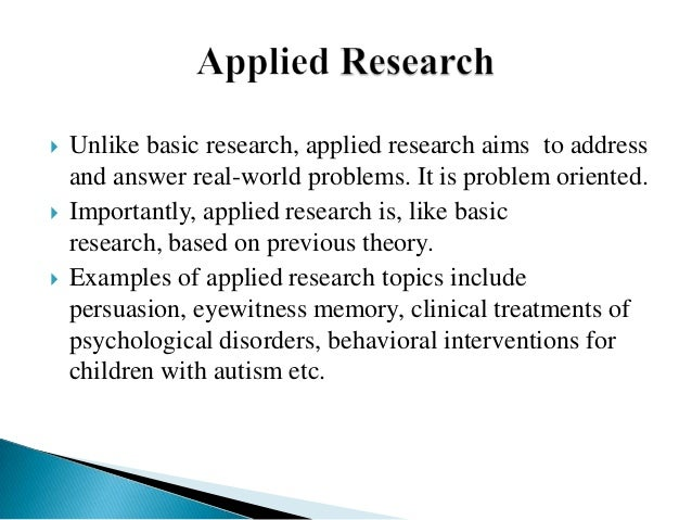 types of research with examples pdf