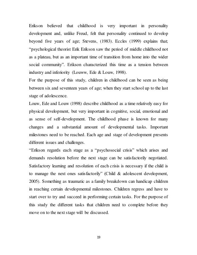 outcomes of divorce on children essay As adults, the female children of divorced parents experience less trust and  satisfaction in romantic relationships ().