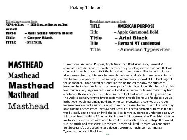 Research broadsheet newspaper