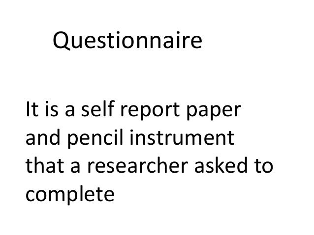 Research data collection methods and tools