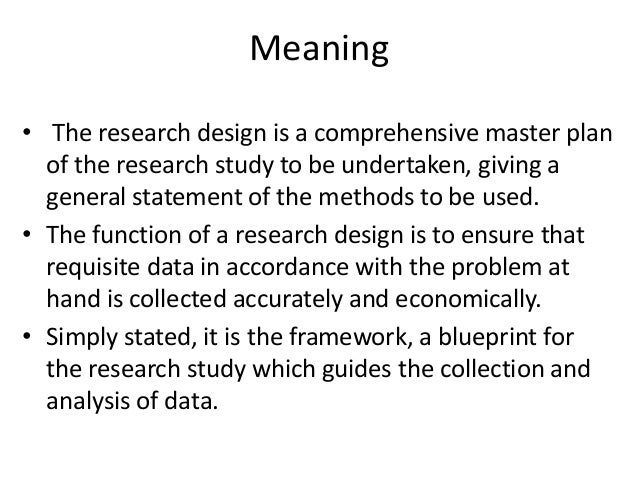 Research design meaning malvernweather Gallery
