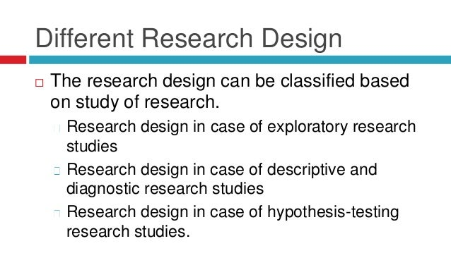 DIFFERENT RESEARCH DESIGNS PDF
