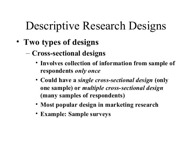 Descriptive Research Design: Definition, Example & Types ...