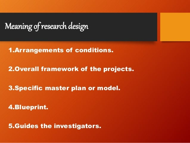Research methodology design meaning features need sampling erro definition of research malvernweather Images