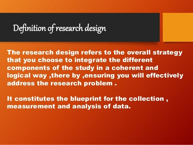 Research methodology design meaning features need sampling erro 5 malvernweather Gallery