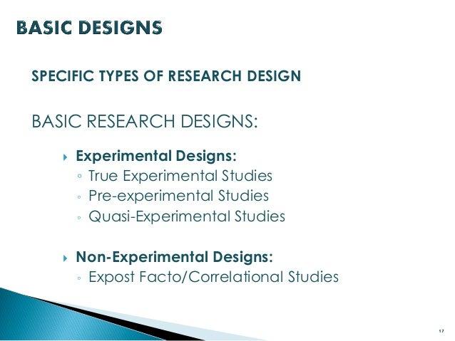 Expost Facto Design Pdf
