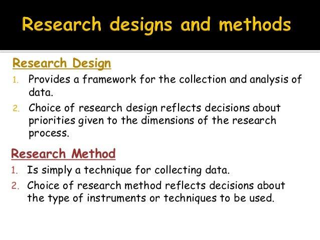 Research design methods Slide 2