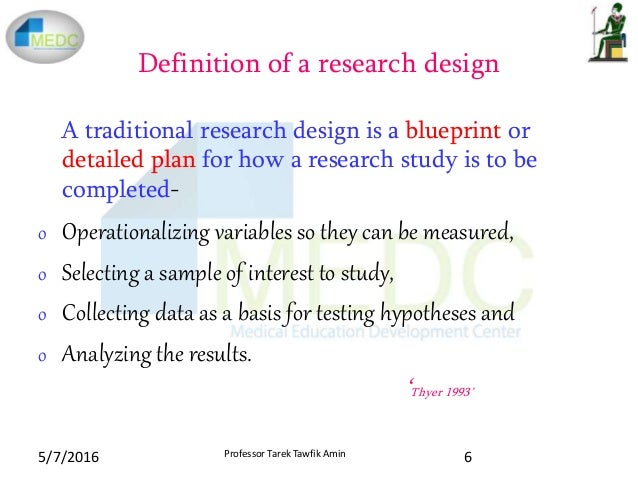WHAT IS RESEARCH DESIGN? - New York University