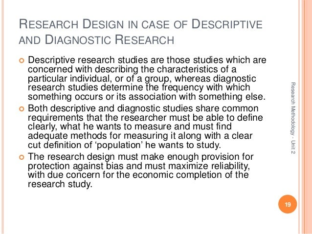 Understanding Research Study Designs | Health Sciences ...