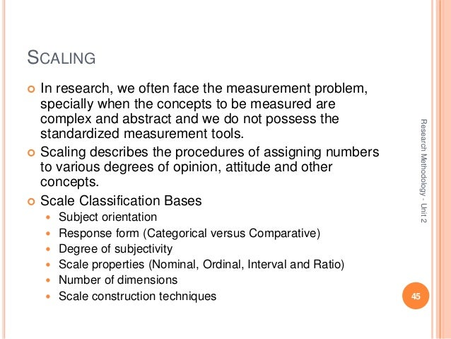 the questionnaire development and scaling technique 1 survey question bank: methods fact sheet 1 (march 2010) likert items and scales rob johns (university of strathclyde) 1 the ubiquitous likert item.