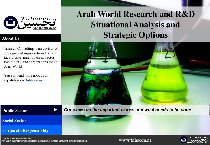 Arab World Research and R&D                                                                                        Situati...