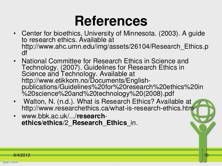 ethical guidelines for social science research