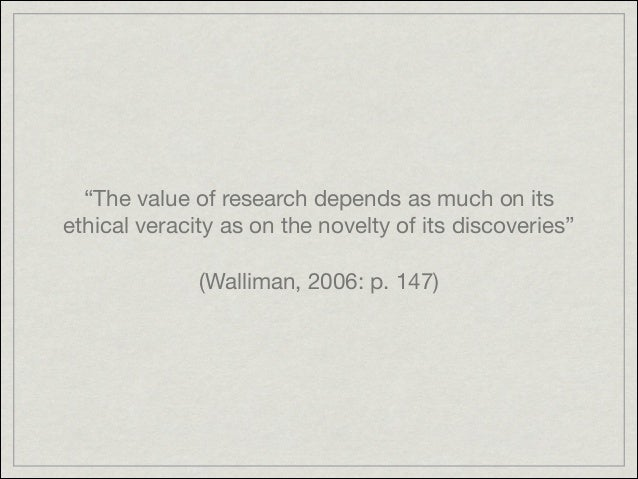 Research ethics Slide 2