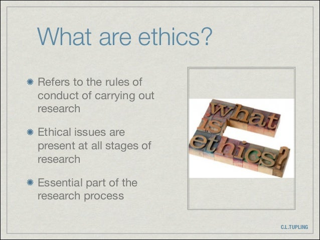 Research ethics Slide 3