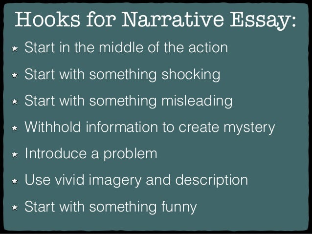 how to start a narrative essay examples
