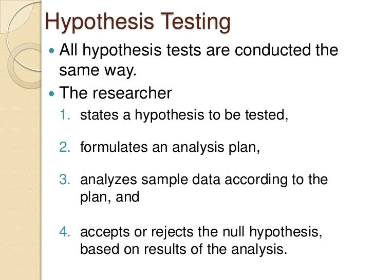 a hypothesis is based on observations and must be