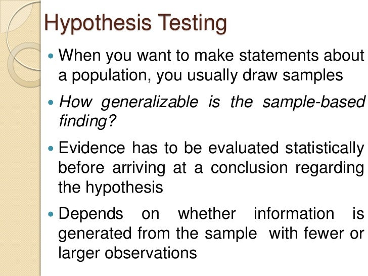 statistics research paper hypothesis This means the studies outlined should lead logically into your aims and hypotheses • do be concise and selective, avoid the temptation to include anything in case it is relevant (ie don't write a shopping list of studies) • don't turn this introduction into an essay • don't spell out all the details of a piece of research unless it.