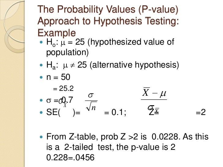 hypothesis testing two means pdf
