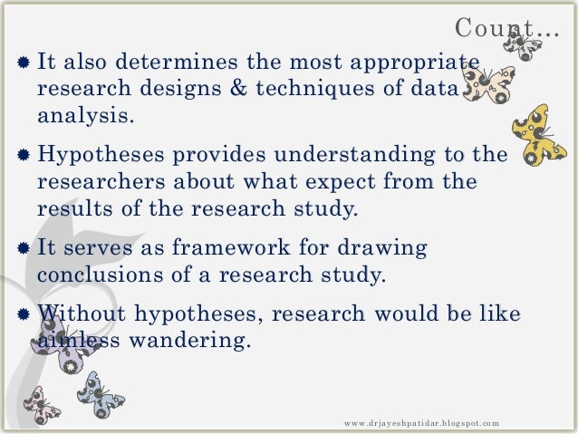 What is a hypothesis in research
