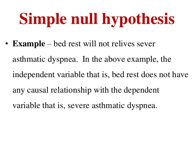 sample hypothesis in nursing thesis Writing research papers and theses: formulate a research question or hypothesis: try to set your paper/thesis aside for a few days before submitting it.