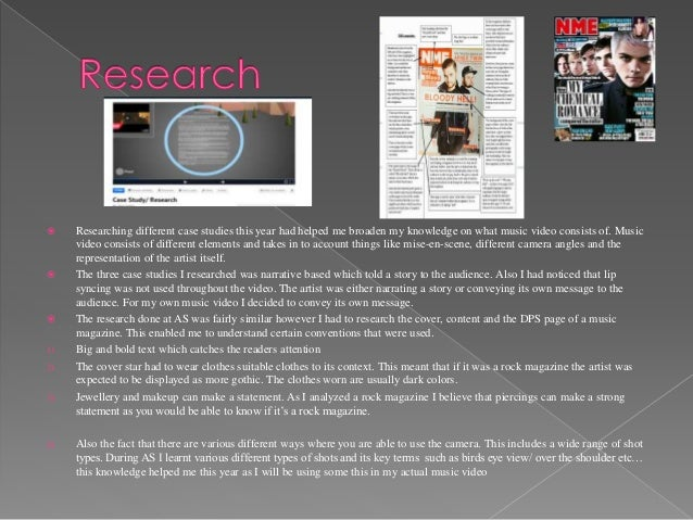 Researching and planning the moving image work Slide 2