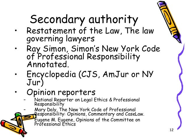 New York Attorney Ethics Opinions
