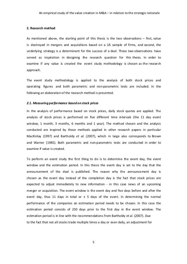 research paper on merger and acquisition Research paper mergers & acquisitions in indian banking sector: regulatory issues and challenges mr shail shakya.