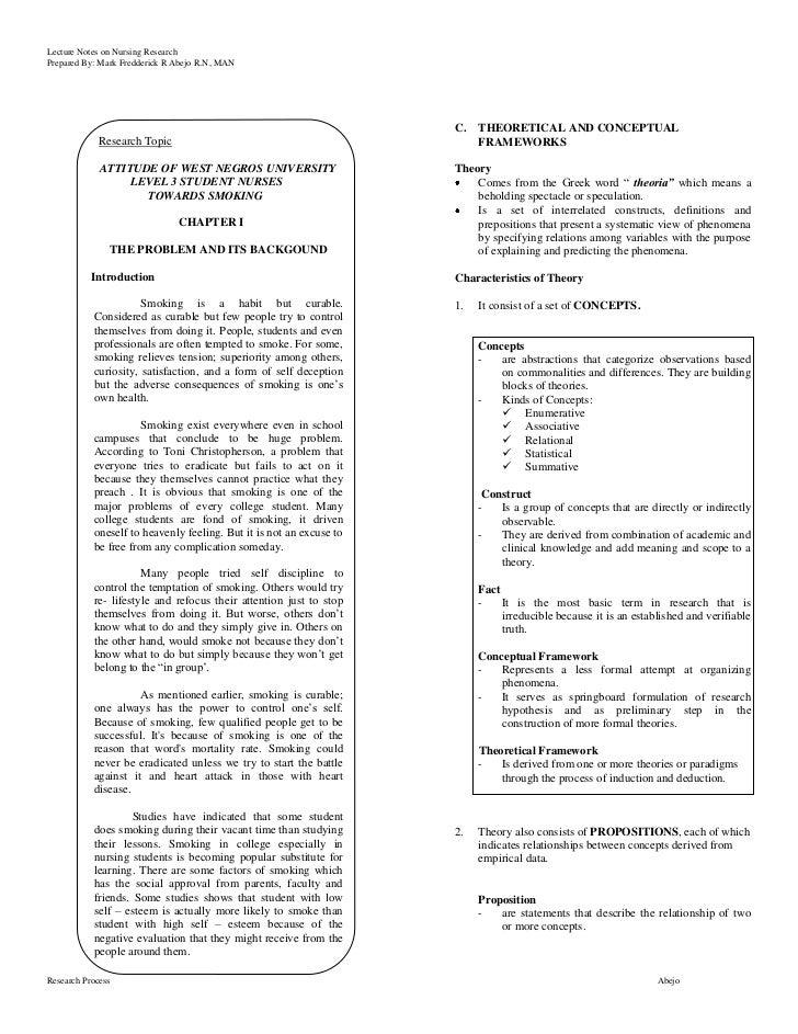 Empirical chapter dissertation