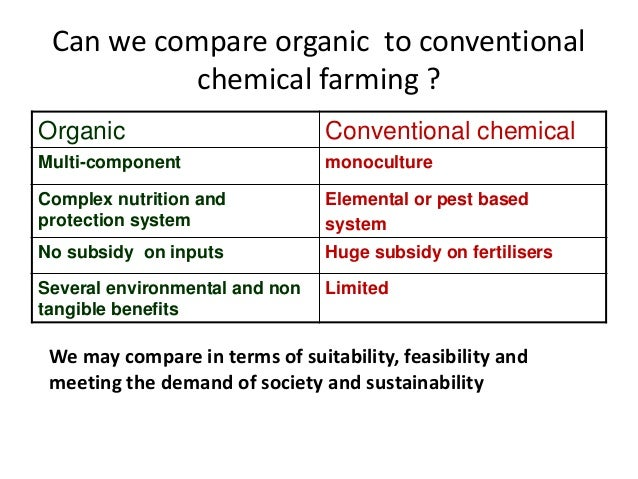 Sustainable Vs. Conventional Agriculture