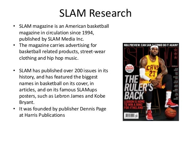 Research Into Existing Sport Magazines