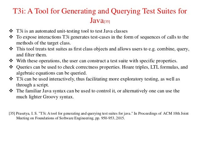 testing issues in java technology Testing stations should be configured in such a way as to prevent the candidates from easily viewing the computer screens of  what version of java is required.