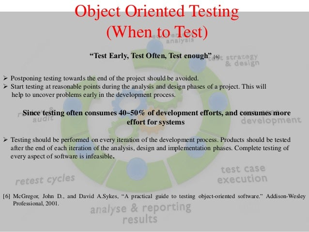 object oriented software engineering research papers This growth in complexity has prompted a significant amount of useful applied research in software engineering, particularly with regard to decomposition, abstraction, and hierarchy the development of more expressive programming languages has complemented these advances.