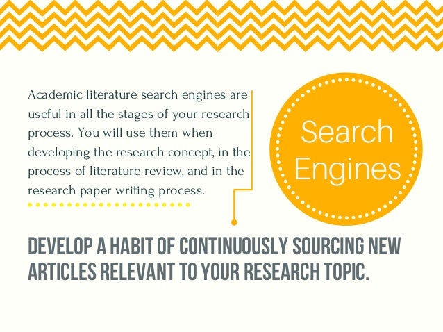 academic research papers search engine Research using the internet know your subject directories and search engines these are excellent places to start your academic research on the internet.
