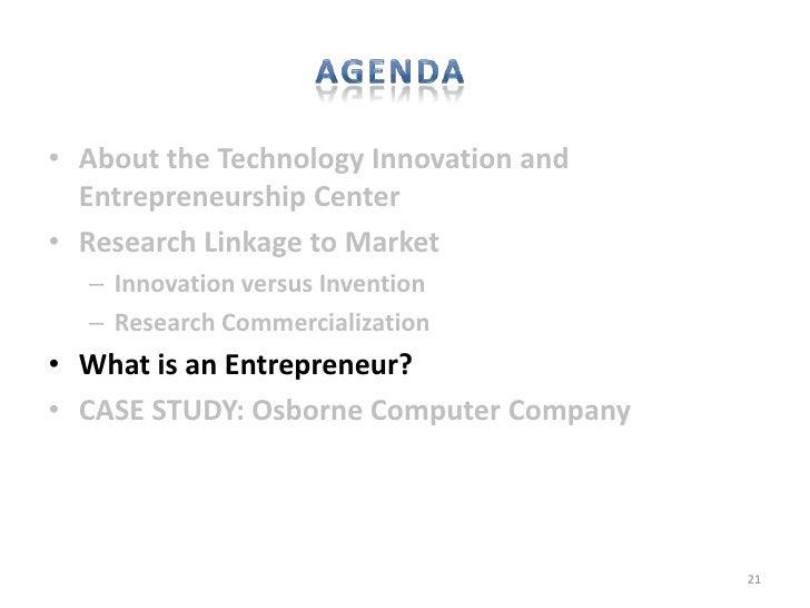 innovator vs entrepreneur So muss man sich vorstellen, dass ein innovator, der kein vorrecht auf seine innovation erhält und deshalb keine gewinne daraus realisieren kann,.
