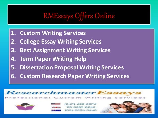 Online custom essay service benefits