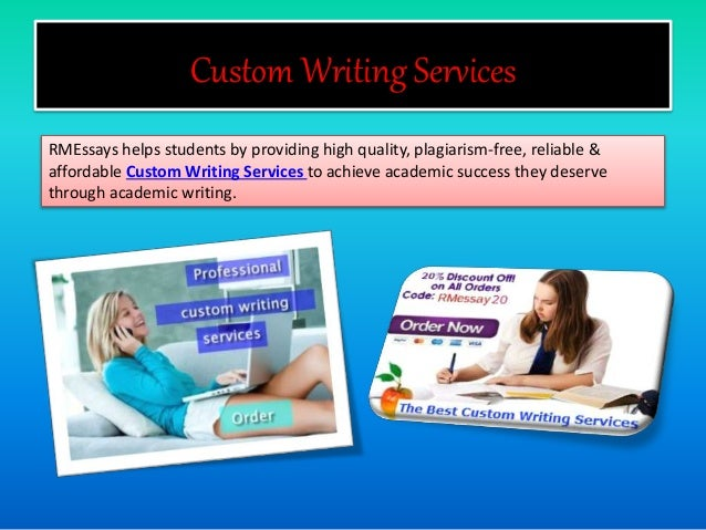 Custom Essay, Term Paper and Research Paper Writing Service