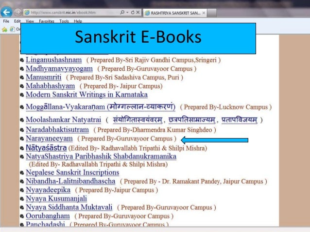 Research material on web for hindi