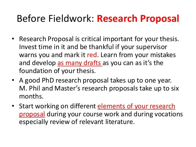 Research proposal sample in social sciences