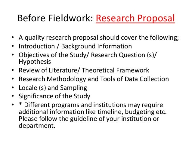 essay on research proposal