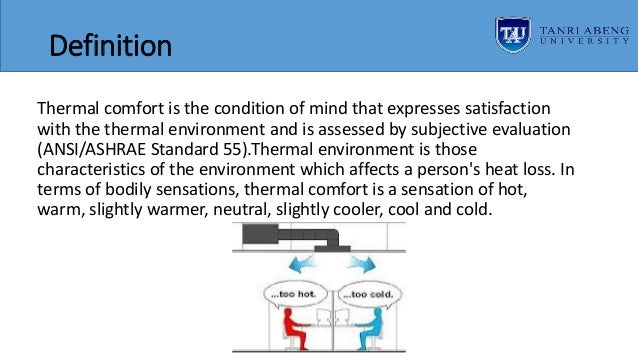 thermal comfort in architecture pdf