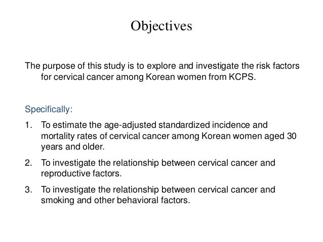 cervical cancer essay Cervical cancer, disease characterized by the abnormal growth of cells in the cervix, the region of the uterus that joins the vagina cervical cancer was once a common cause of cancer deaths.