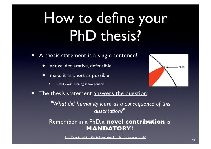 Monograph or cumulative: what is the best way to write a PhD thesis