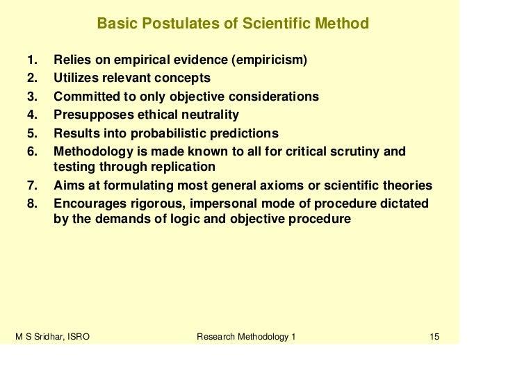 Scientific Ethics