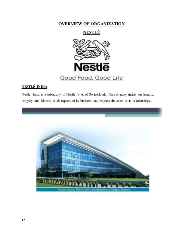 research methodology of nestle Nestle research paper  the method of swot analysis is to take the information from an environmental analysis and  nestle marketing research project cargado.