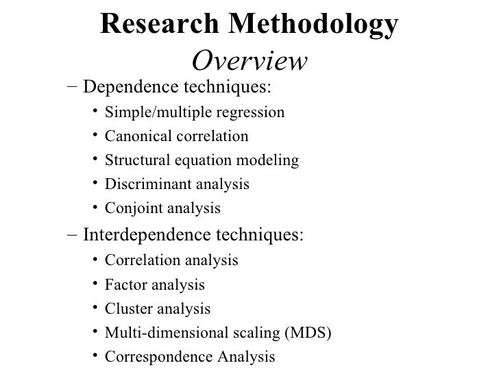 factor analysis in research methodology Stages in that progression as opposed to different ways to conduct statistical  research  he states that statistics is the analysis of events governed by  probability  heart driving the sugar consumption or maybe there's some other  factor.