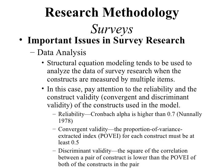 research report of survey methods Time-use measurement and research: report of a workshop (2000)  this  method was used for the four major time-use surveys in the united states, as well .
